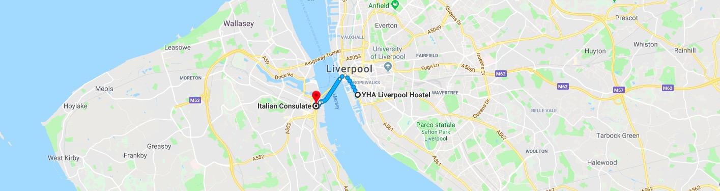 Consolato Italiano Liverpool