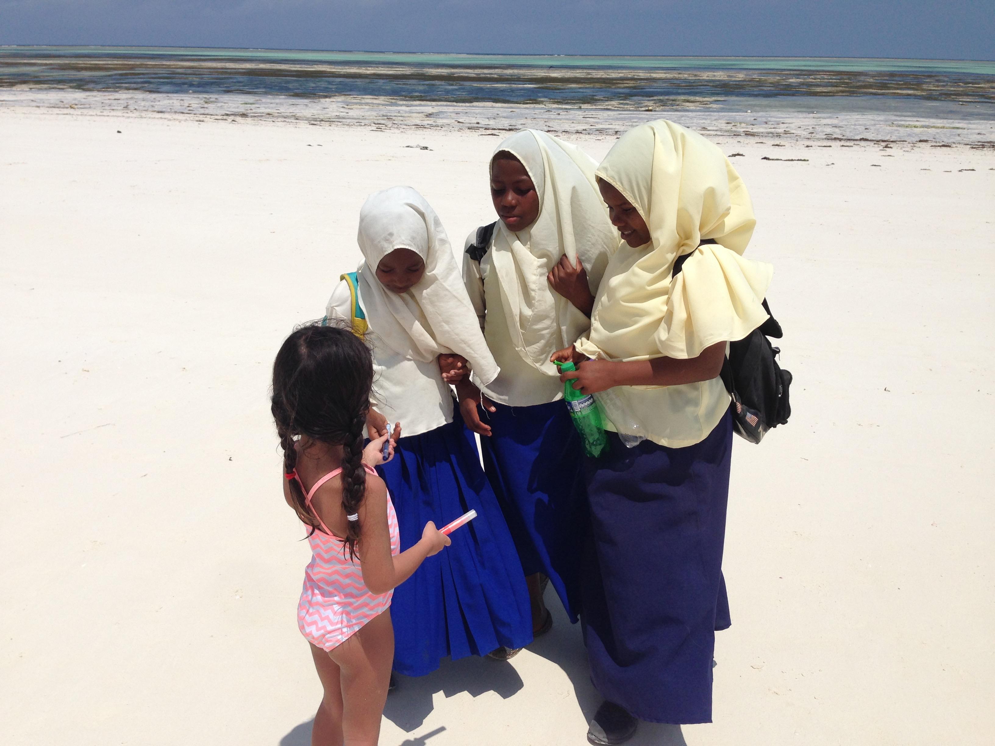 Come si fa a visitare una scuola a Zanzibar?