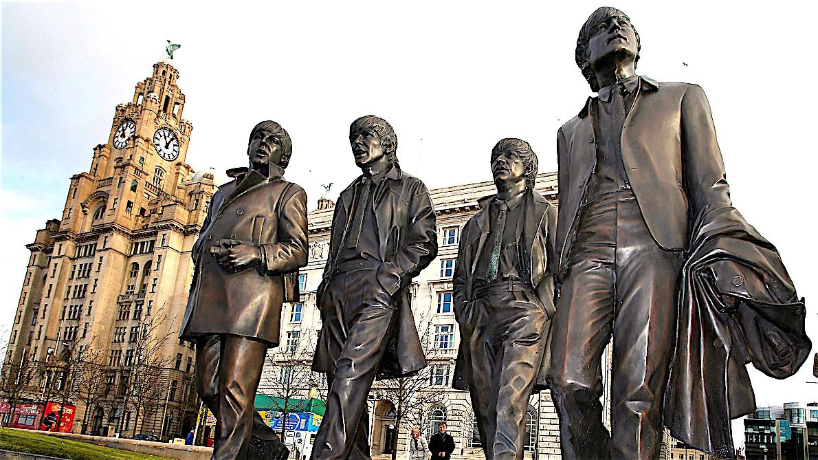Viaggio a Liverpool con bambini e un nonno